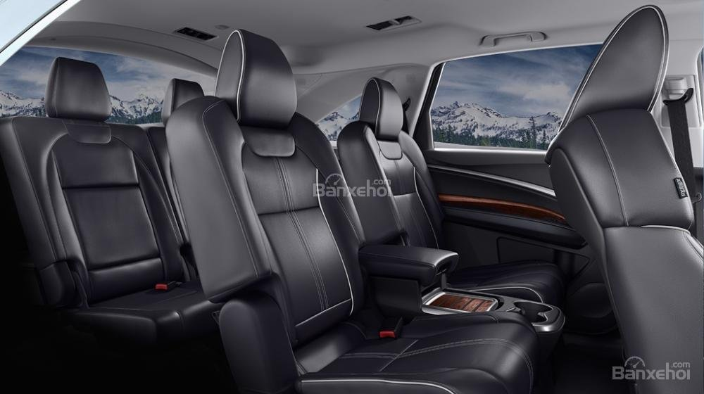 Đánh giá xe Acura MDX 2018: Không gian để chân và trần xe rộng, thoáng a3