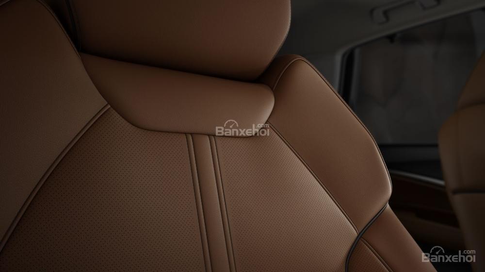 Đánh giá xe Acura MDX 2018: Hệ thống ghế ngồi bọc da tiêu chuẩna1