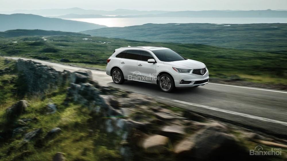 Đánh giá xe Acura MDX 2018 về cảm giác lái