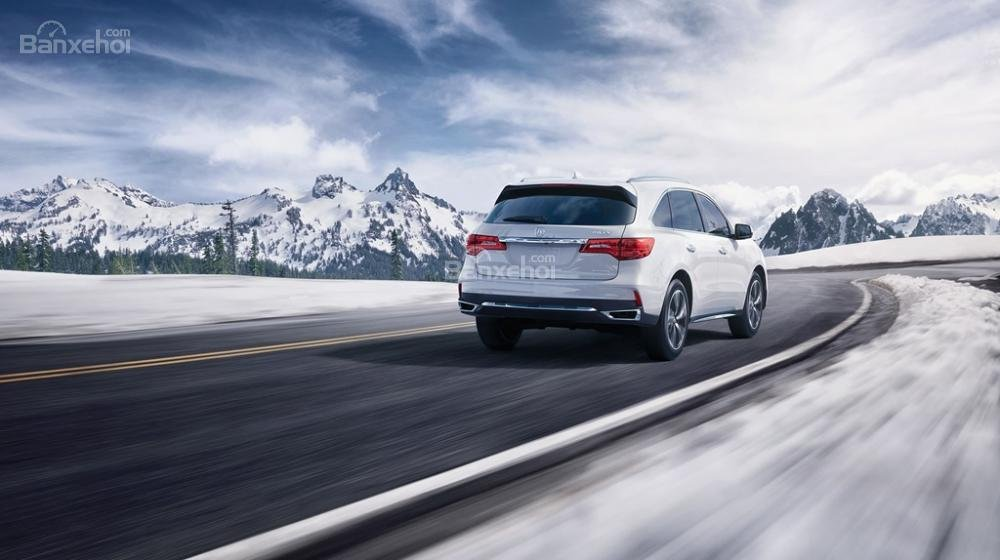 Đánh giá xe Acura MDX 2018 về động cơ.