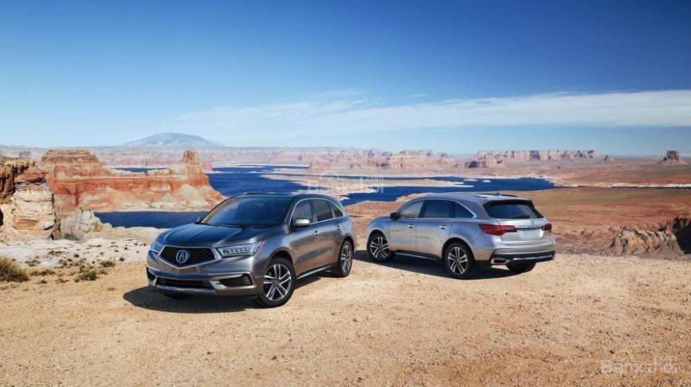 Đánh giá xe Acura MDX 2018