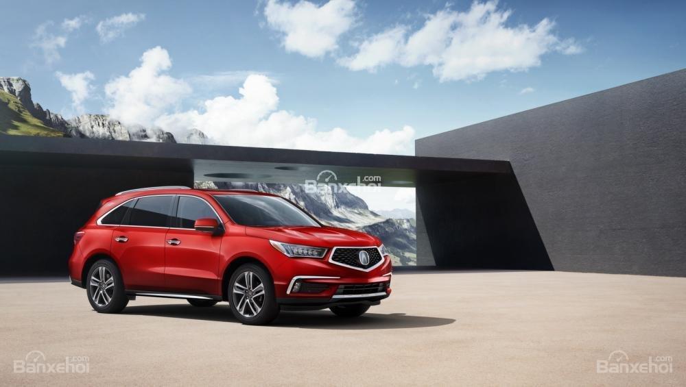 Đánh giá xe Acura MDX 2018: Sang trọng, an toàn, giá mềm.