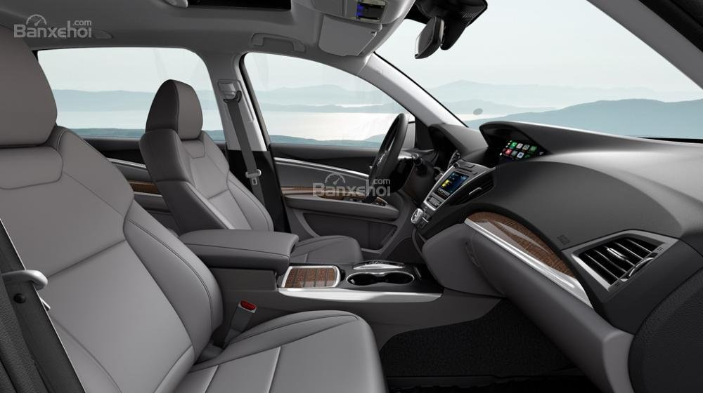 Đánh giá xe Acura MDX 2018: Không gian để chân và trần xe rộng, thoáng a1
