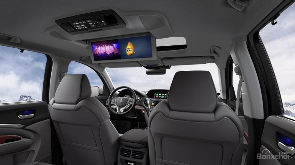 Đánh giá xe Acura MDX 2018: Hệ thống giải trí DVD.