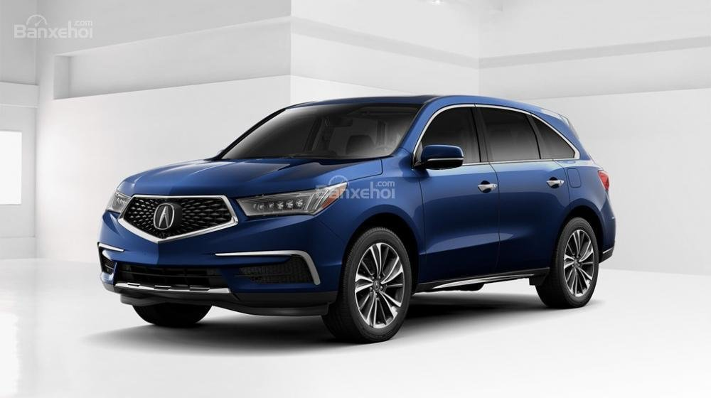 Đầu xe Acura MDX 2019