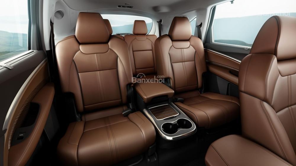 Đánh giá xe Acura MDX 2018: Không gian để chân và trần xe rộng, thoáng a2