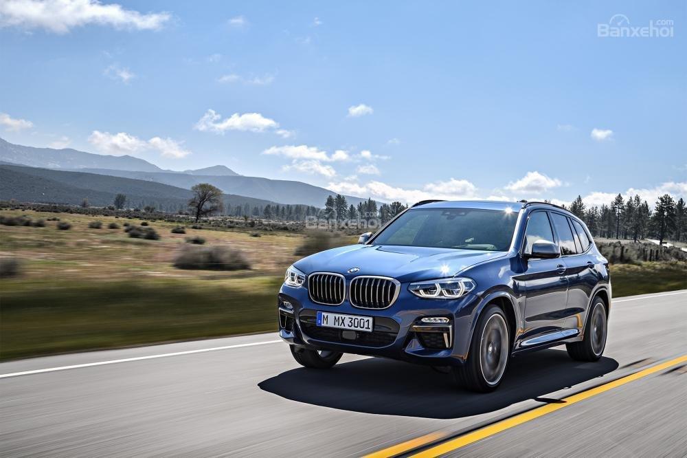Đánh giá xe BMW X3 2018 về cảm giác lái.
