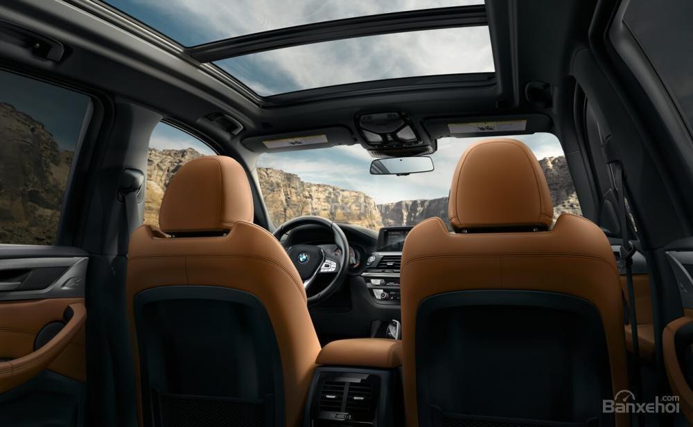Hệ thống ghế ngồi xe BMW X3 2018