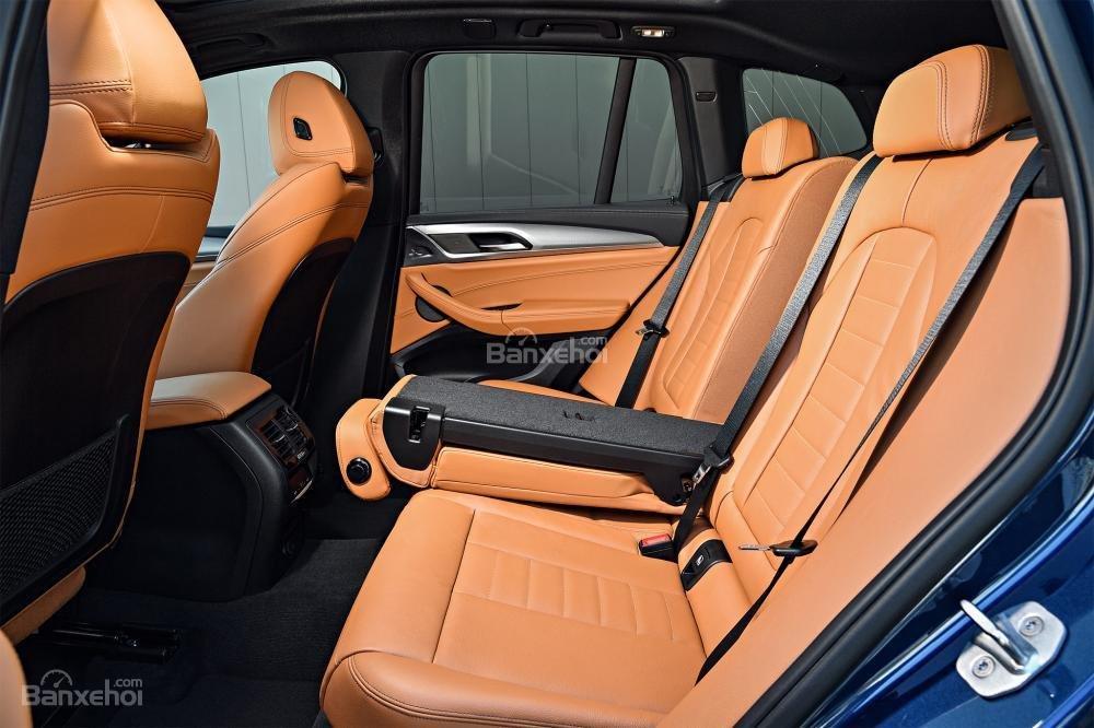 Hàng ghế sau xe BMW X3 2018