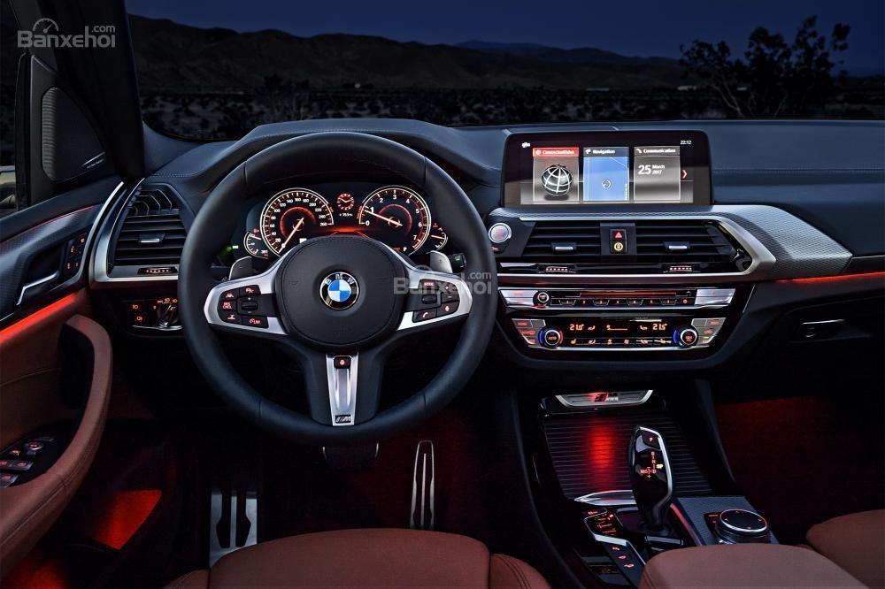 BMW X3 2018 sở hữu công nghệ điều khiển bằng cử chỉ mới nhất, tương tự 7 Series.