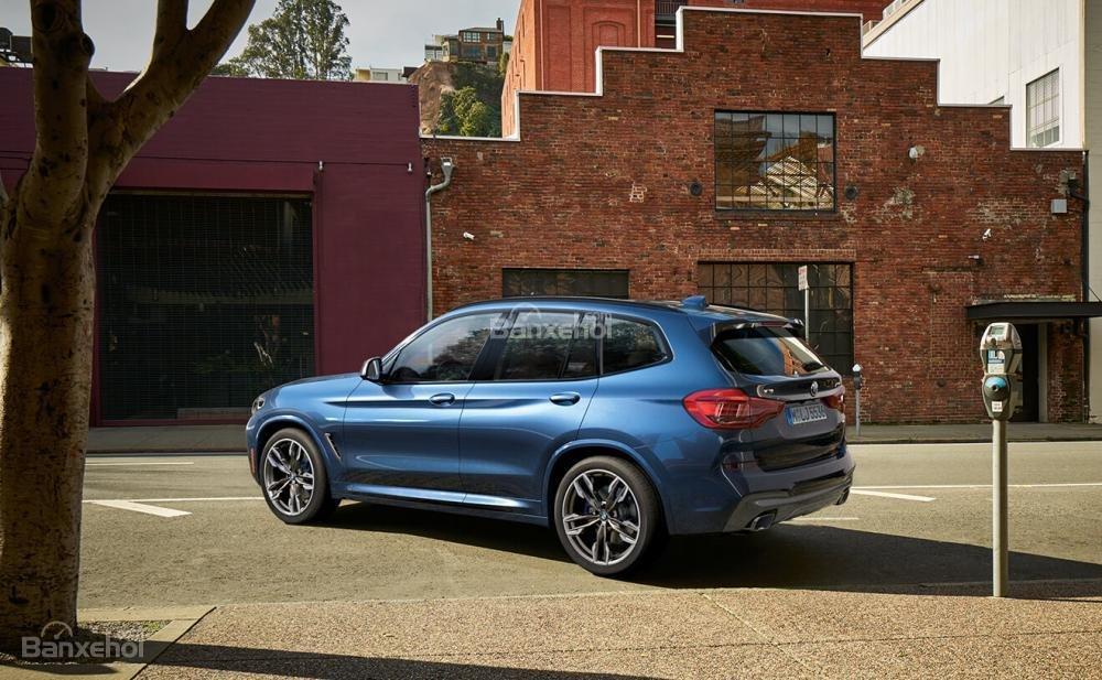 Đánh giá xe BMW X3 2018 về trang bị an toàn.