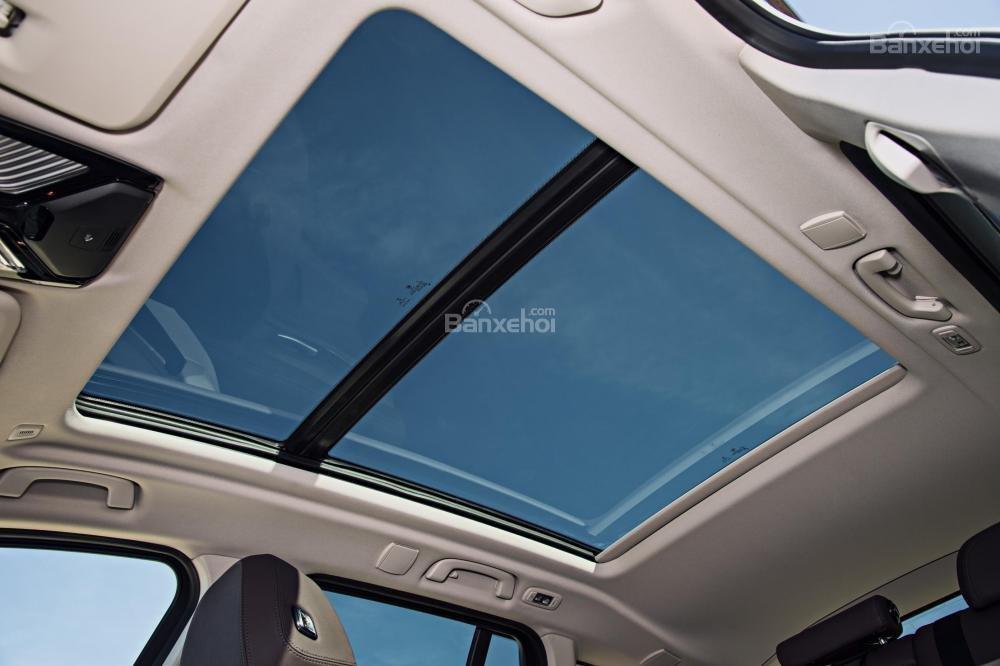 Đánh giá xe BMW X3 2018: Cửa sổ trời.