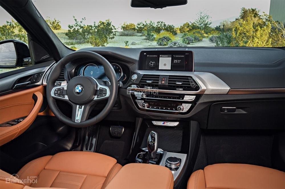Đánh giá xe BMW X3 2018 về nội thất a1