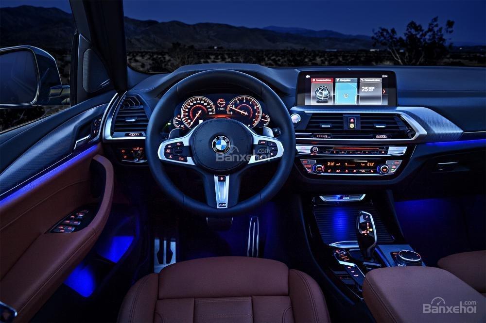 Đánh giá xe BMW X3 2018 về nội thất a3