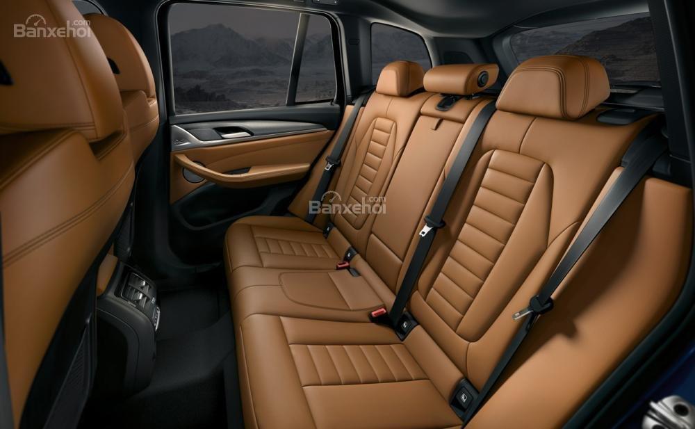 Đánh giá xe BMW X3 2018 về hệ thống ghế ngồi