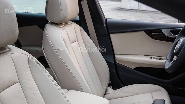 So sánh xe Audi A5 2018 và BMW 4 Series 2018 về hệ thống ghế ngồi .