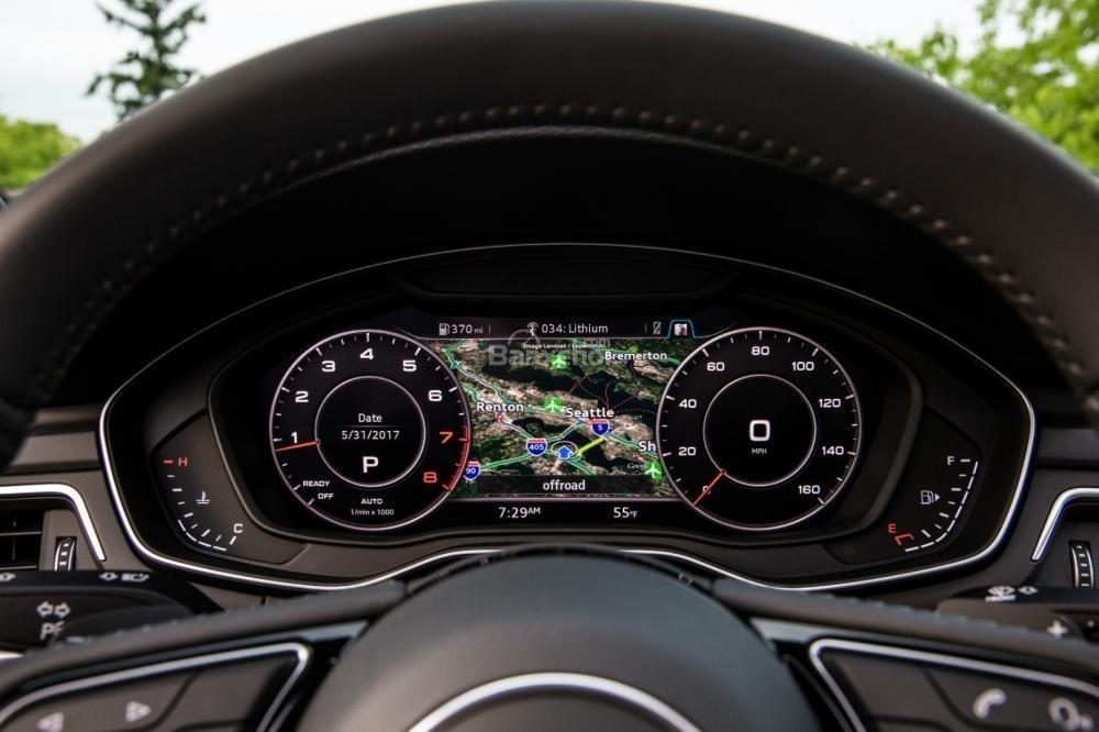 Buồng lái ảo Virtual Cockpit trên Audi A5 2018