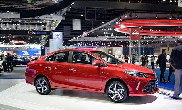 Hình ảnh thân xe Toyota Vios 2018