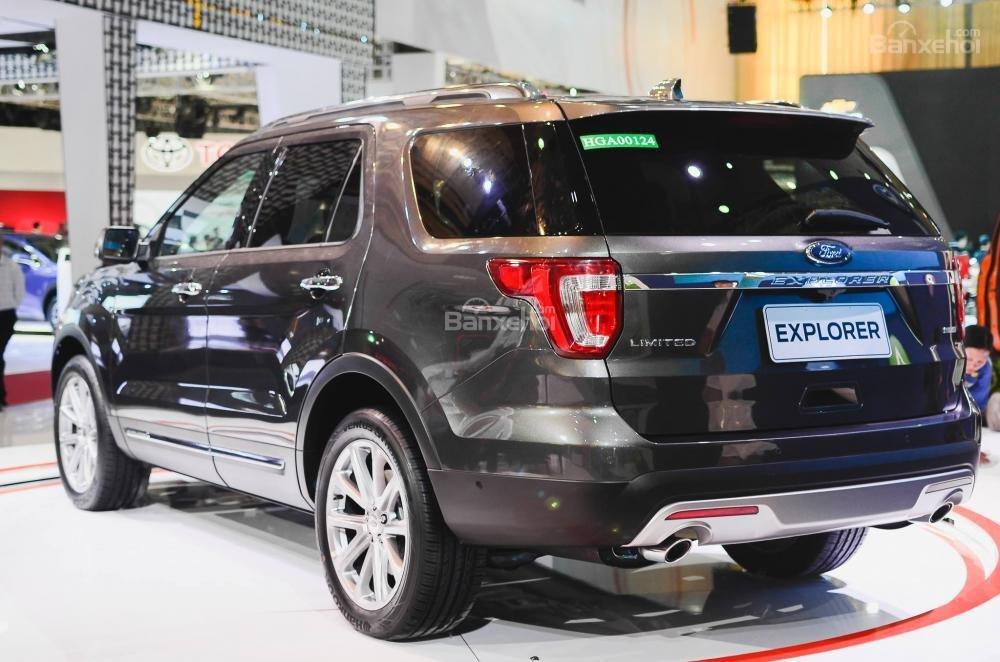 Bán Ford Explorer 2.3L màu đen, đỏ, trắng, xám. Tặng bảo hiểm thân vỏ + bậc điện-3