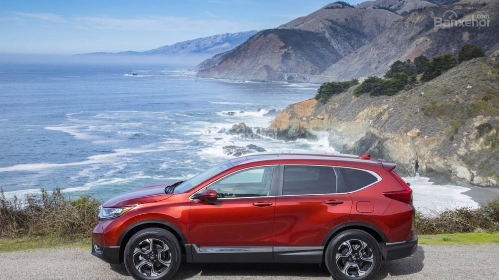 Đánh giá ưu nhược điểm Honda CR-V 2018 bản 5 chỗ nhập Mỹ a6