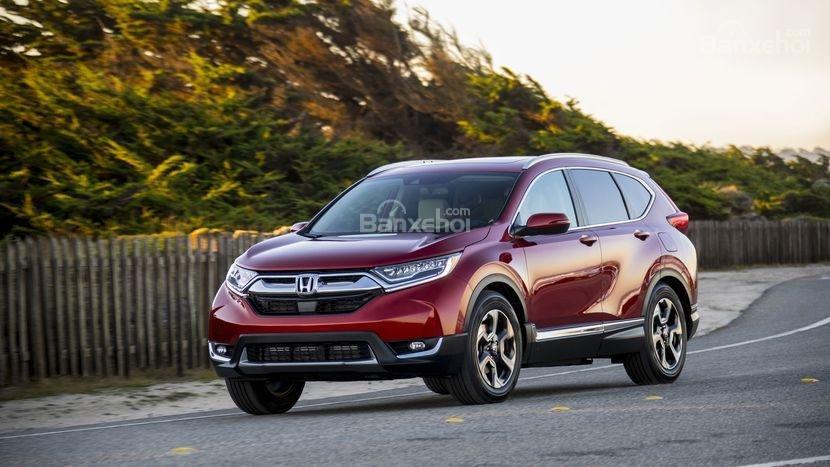 Đánh giá ưu nhược điểm Honda CR-V 2018 bản 5 chỗ nhập Mỹ a3