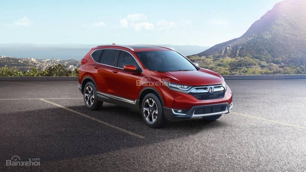 Đánh giá ưu nhược điểm Honda CR-V 2018 bản 5 chỗ nhập Mỹ a1
