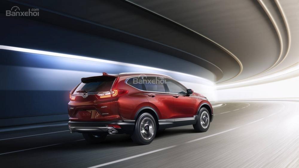 Đánh giá ưu nhược điểm Honda CR-V 2018 bản 5 chỗ nhập Mỹ a5