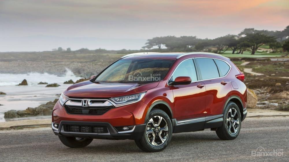 Đánh giá ưu nhược điểm Honda CR-V 2018 bản 5 chỗ nhập Mỹ a7