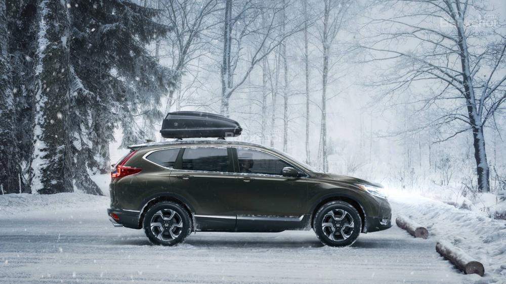 Đánh giá ưu nhược điểm Honda CR-V 2018 bản 5 chỗ nhập Mỹ a12