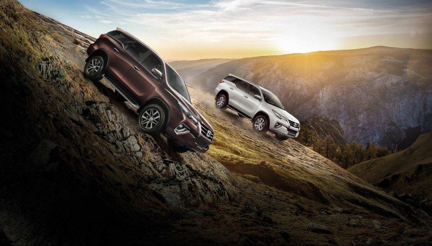 Toyota Fortuner 2018 được tối ưu hơn cho off-road.