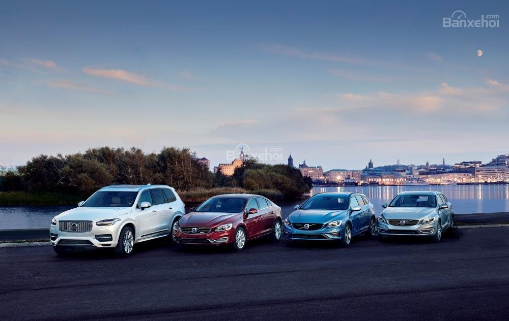 Doanh số Volvo tăng 8,6% trong 10 tháng đầu năm 2017.