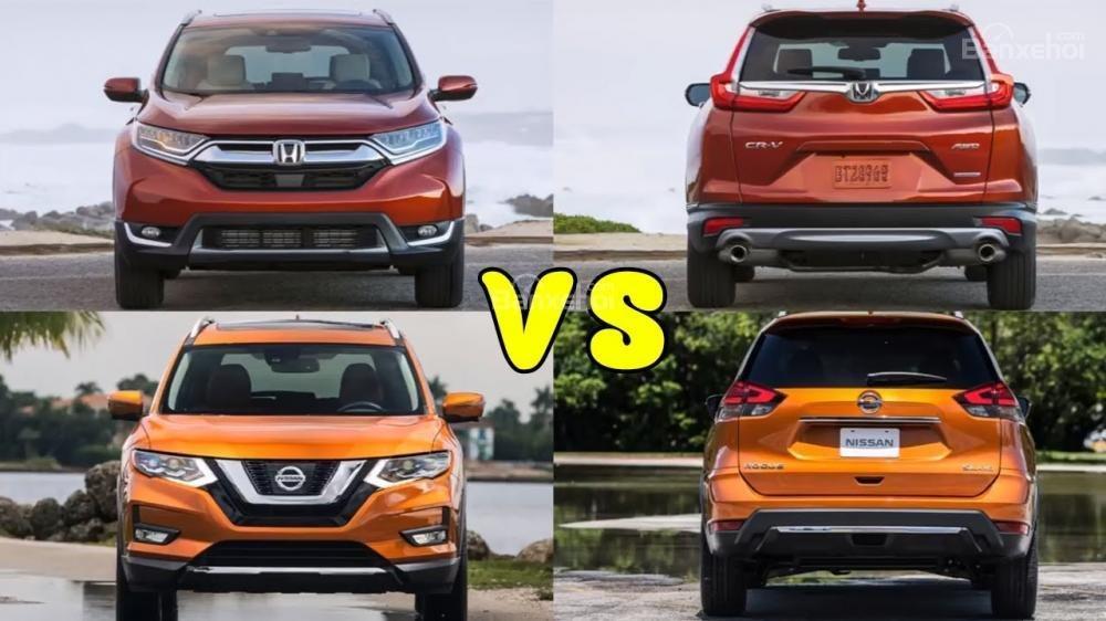 So sánh xe Honda CR-V 2018 và Nissan X-Trail 2018 về độ an toàn.