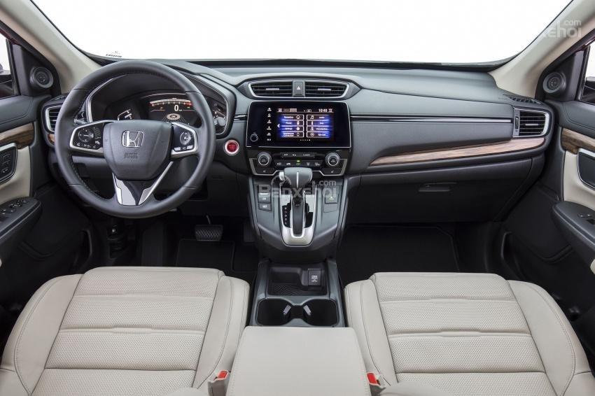 Khoang nội thất Honda CR-V 2018