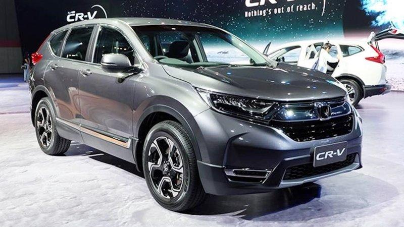 Honda CR-V 7 chỗ 2018 chụp từ phía trước