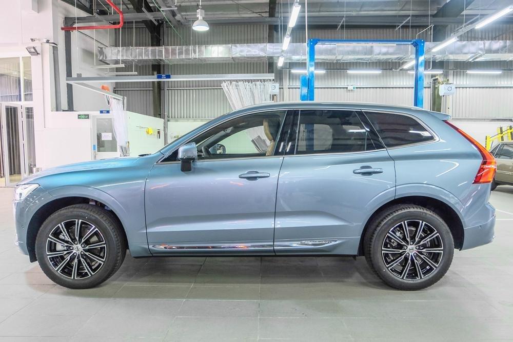 Ảnh chụp thân xe Volvo XC60 2018