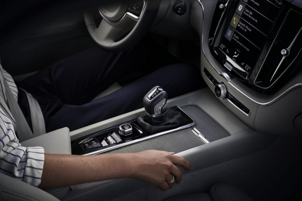 Ảnh chụp nội thất xe Volvo XC60 2018