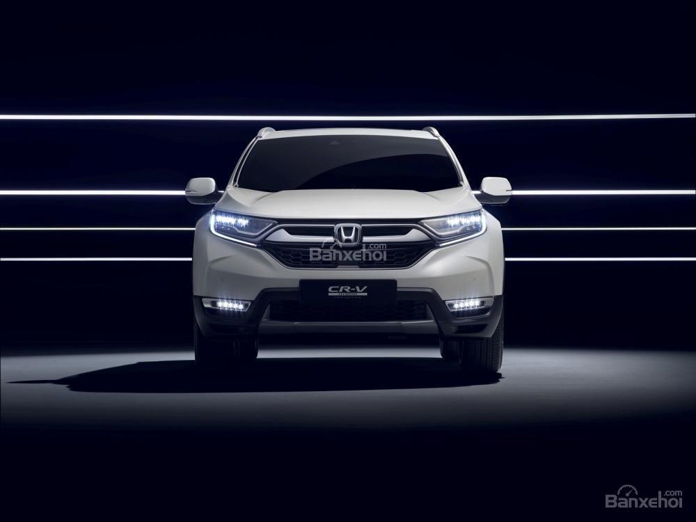 Đánh giá xe Honda CR-V Hybrid 2017 về động cơ.