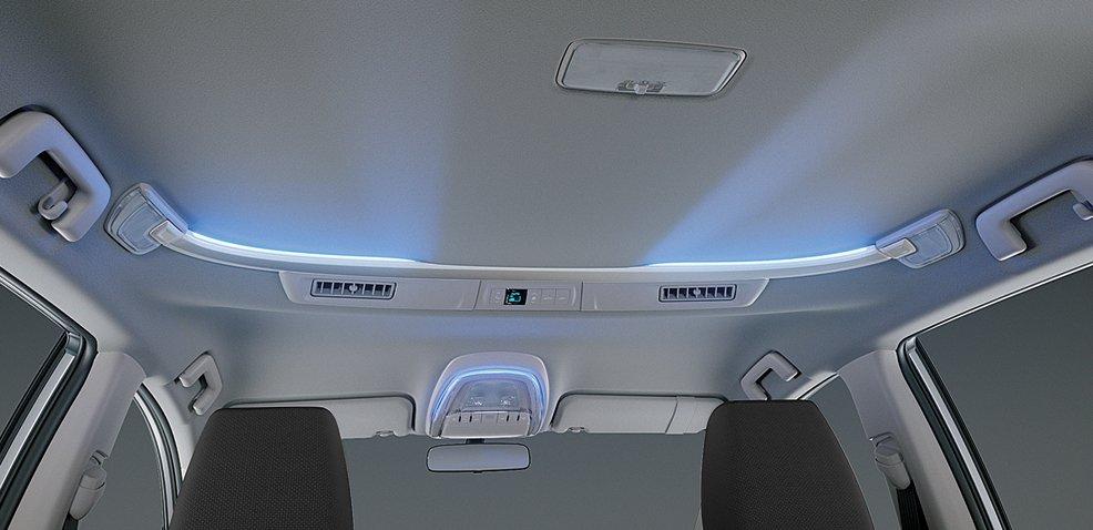 Hệ thống đèn nội thất trên Toyota Innova Venturer 2018