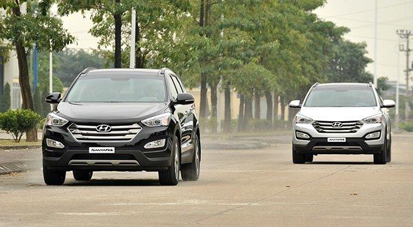 """Những mẫu ô tô giảm giá nhiều tại Việt Nam: Hyundai Santa Fe """"ngon nhất"""" a12"""