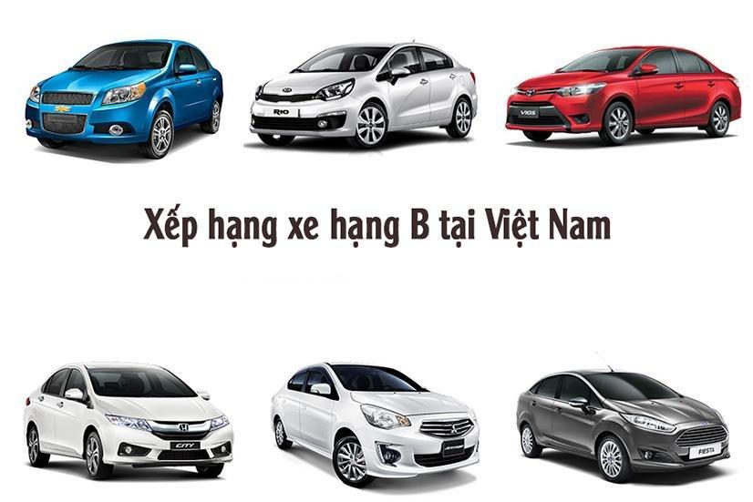 Top 10 xe hạng B ăn khách nhất Việt Nam tháng 10/2017.