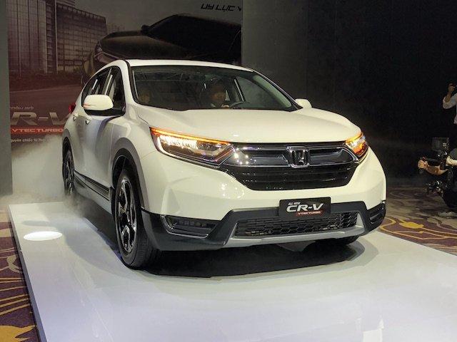 Honda CR-V 2018 sẽ gây khó cho cả phân khúc SUV 7 chỗ? a1