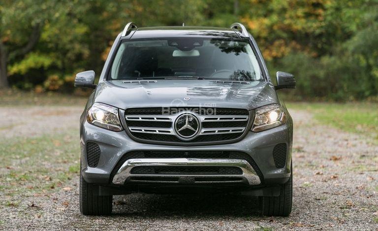 Đánh giá xe Mercedes-Benz GLS Class 2018 về thiết kế đầu xe.