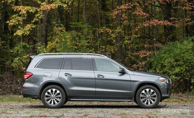 Đánh giá xe Mercedes-Benz GLS Class 2018 về thiết kế thân xe