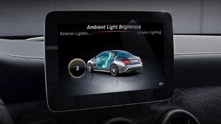Đánh giá xe Mercedes-Benz CLA-Class 2018: Xe được trang bị nhiều tính năng an toàn.