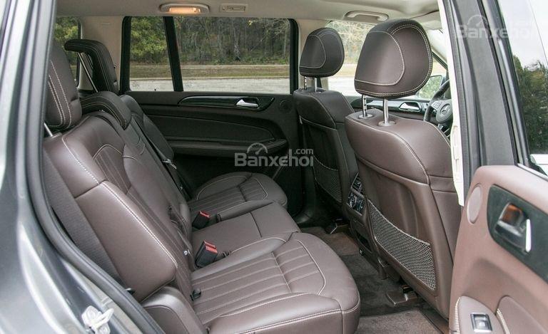 Đánh giá xe Mercedes-Benz GLS Class 2018 về không gian ghế ngồi