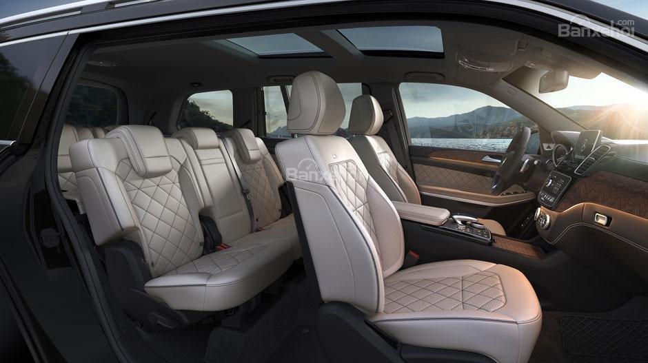 Hệ thống ghế ngồi trên xe Mercedes-Benz GLS Class 2018