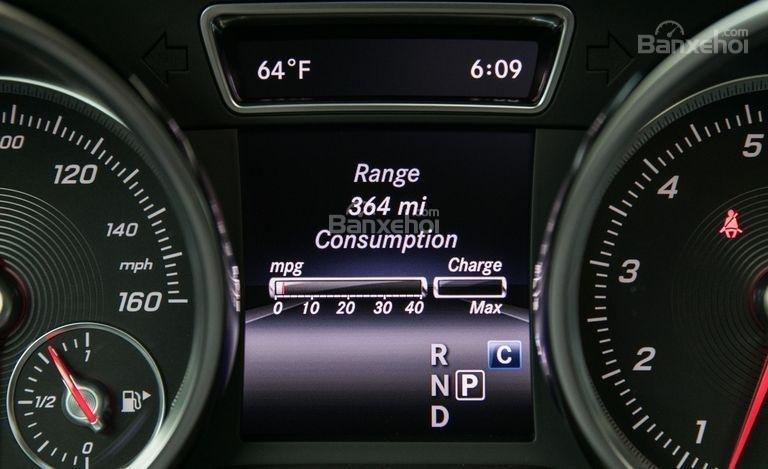 Màn hình hiển thị thông số xe trên Mercedes-Benz GLS Class 2018 2
