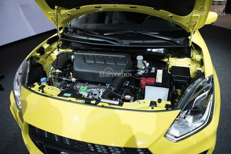 Suzuki Swift Sport 2018 sử dụng động cơ Boosterjet 1.4L mạnh 138 mã lực/230 Nm.