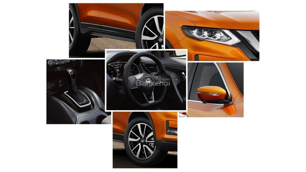 Các điểm mới trên Nissan X-Trail 2018