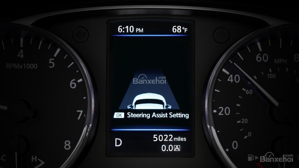 Đánh giá xe Nissan X-Trail 2018 về cụm đồng hồ a2